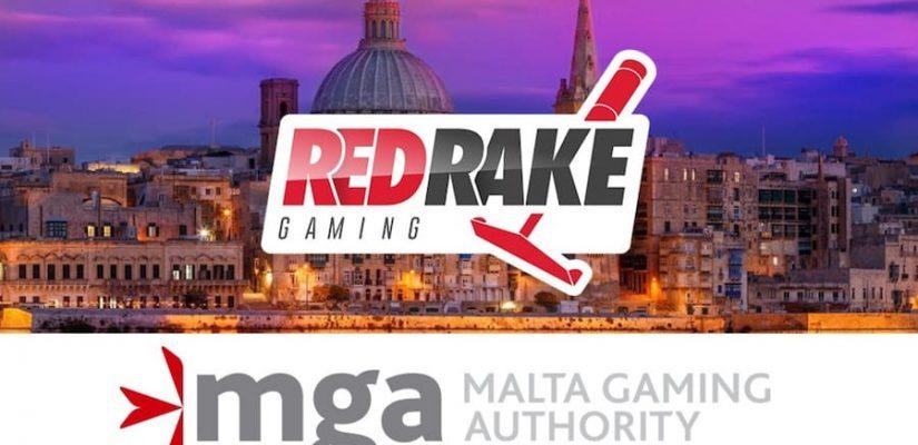 red rake obtient une licence de mga